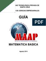 Guia de Matemática Basica 2014-1