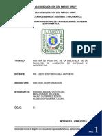 Proyecto de Sistemas de Información