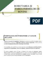 CURSUL 6_PROIECTAREA ŞI DEZVOLTAREA FERMELOR DE BOVINE.ppt