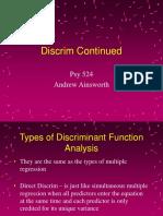 Psy524 Lecture 17 Discrim2