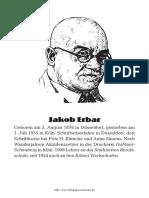 Jakob Erbar