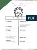 Programa_Curso de Filosofía DUBIUS