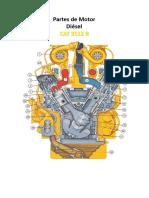 Partes Del Motor CAT 3512B