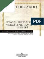 David Ricardo - Siyasal İktisadın Ve Vergilendirmenin İlkeleri