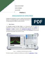 practica analizador de espectro