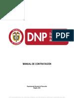 Manual de Contratacion Del Dnp 2014