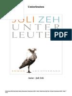 Bücher Kostenlose Unterleuten (PDF - EPub - Mobi) Durch Juli Zeh