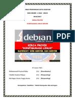 Konfigurasi Server Berbasis Linux Debian 7