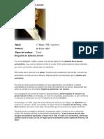 Datos Sobre Edward Jenner