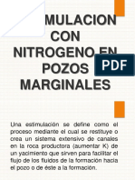 Estimulacion Con Nitrogeno