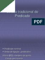 Estudo Tradicional Do Predicado-1