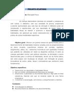 PROJETO Atletismo 1.doc