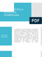 Diapositiva Comercio en La Repuplica Dominicana