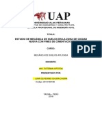 Imforme Mecanica de Suelos - JUAN CHURA CHURA
