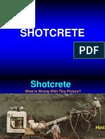 Shotcrete