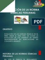 Evolución de La Normas Sísmicas Peruanas