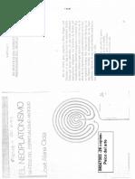 06047003 Alsina Clota, José - El Neoplatonismo. Cap 1 y 2 (Un Neoclima Espiritual y La Preparación Del Neoplatonismo ; Plotino)
