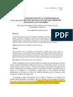 psicotecnia en Colombia