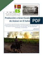 Cultivo de Caña, El Salvador