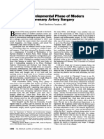 [R. G. Favaloro] the Developmental Phase of Modern Coronary Artery Surgery (Artículo)
