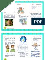 Leflet ISPA Pada Anak