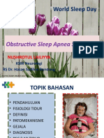 Obstructive Sleep Apnea Webinar
