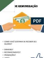 Tipos de Remuneração nas empresas