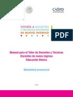 Manual Para El Tutor_2018 Modalidad Presencial