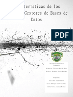 Caracterisiticas de Los Sistemas Gestores de Bases de Datos