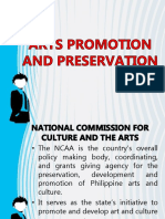ARTS PROMOTION AND PRESERVATION.pptx
