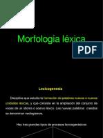 Morfología léxica