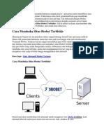 Cara Membuka Situs Sbobet Terblokir | Goodlucky99