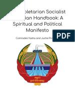 The Proletarian Socialist Agrarian Handbook_ a Spiritual and Political Manifesto (1)