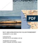 Grand Bayou Glass Workshop in Bay Area Aug 11-18