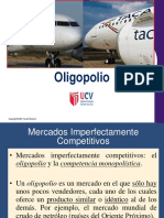 Clase Sesión 13 - El Mercado Oligopólico