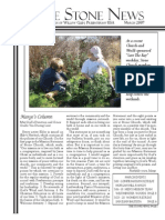 March 2007 Stone Newsletter, Stone Church of Willow Glen