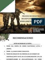 Instructivo - Ayuda Registro Distrito Militar No.. 08 - 2017