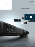 Yamaha Audio Video 2013 Fall Catalogue