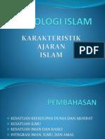 karakteristik Ajaran Islam