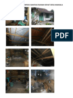 Dokumentasi Isnpeksi Sanitasi Rumah Sehat Desa Boilan