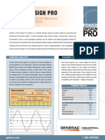 Power Design Pro Sell Sheet