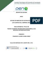 Estudio de Mercado de Satisfacción de Los Clientes en La Empresa Arvic