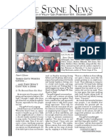 December 2007 Stone Newsletter, Stone Church of Willow Glen
