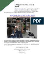 0877-7007-8170 (XL) | Service Projector di Pancoran Mas Depok