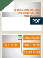 CLASIFICACIÓN DE LOS INSTRUMENTOS MUSICALES.pptx
