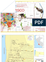 Mapa de Evacuacion Pisco, Rutas de Evacuacion