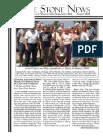 August 2008 Stone Newsletter, Stone Church of Willow Glen