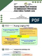 Penjelasan Pedum, PTO dan Juknis PID 2018 ok (2).ppt