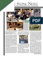 November 2008 Stone Newsletter, Stone Church of Willow Glen
