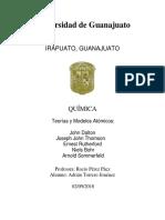 Adrián Torrero Jiménez -Modelos Atómicos en la Historia -